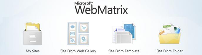 webmatrix hosting