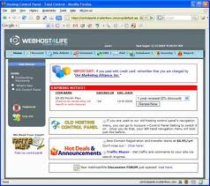 webhost4life old cp
